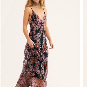 Free People Rising Sun Maxi Dress size 6